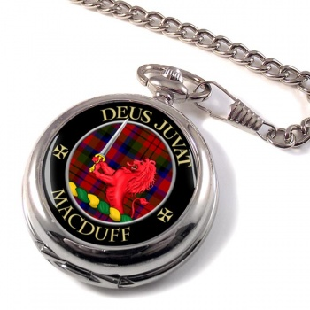 Macduff Scottish Clan Pocket Watch
