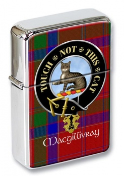 Macgillivray Scottish Clan Flip Top Lighter