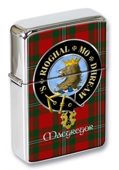 Macgregor Scottish Clan Flip Top Lighter