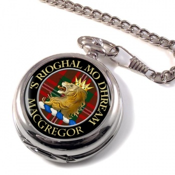 Macgregor Scottish Clan Pocket Watch