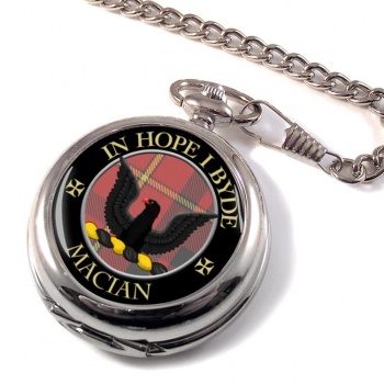 MacIan Scottish Clan Pocket Watch