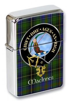 MacInnes Scottish Clan Flip Top Lighter