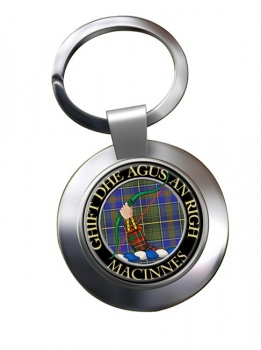 MacInnes Scottish Clan Chrome Key Ring