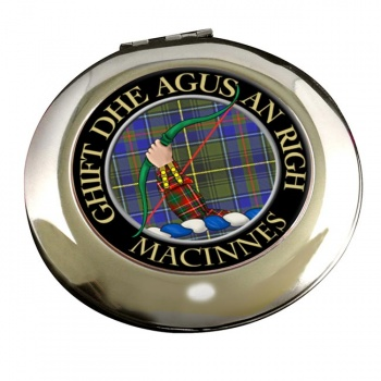 MacInnes Scottish Clan Chrome Mirror