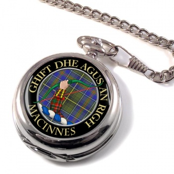 MacInnes Scottish Clan Pocket Watch