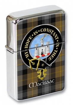 Macisaac Scottish Clan Flip Top Lighter