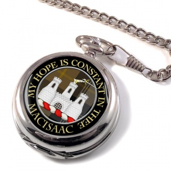 Macisaac Scottish Clan Pocket Watch