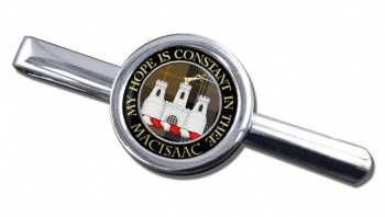 Macisaac Scottish Clan Round Tie Clip