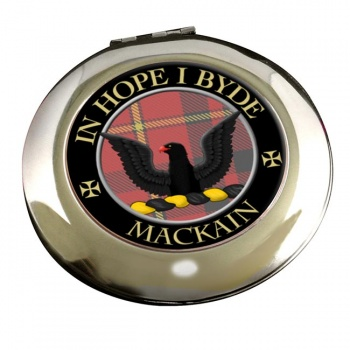 Mackain Scottish Clan Chrome Mirror