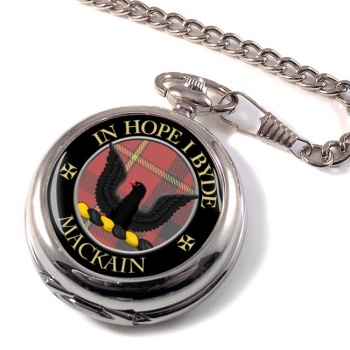 Mackain Scottish Clan Pocket Watch