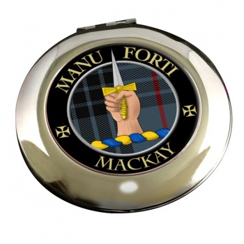 Mackay Scottish Clan Chrome Mirror