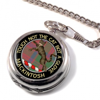 Mackintosh Scottish Clan Pocket Watch