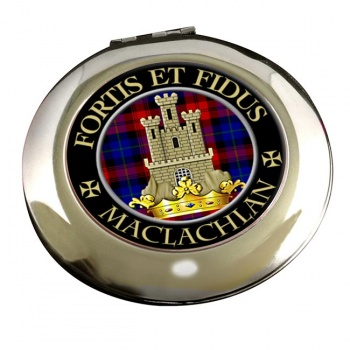 Maclachlan Scottish Clan Chrome Mirror
