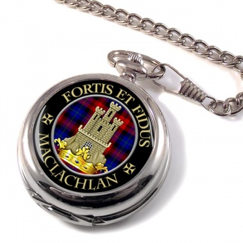 Maclachlan Scottish Clan Pocket Watch