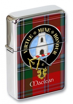 Maclean Scottish Clan Flip Top Lighter