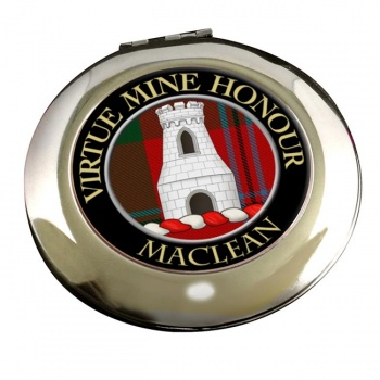 Maclean Scottish Clan Chrome Mirror