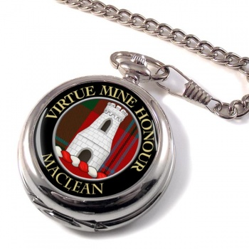 Maclean Scottish Clan Pocket Watch