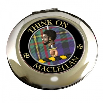 Maclellan Scottish Clan Chrome Mirror