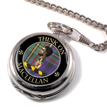 Maclellan Scottish Clan Pocket Watch