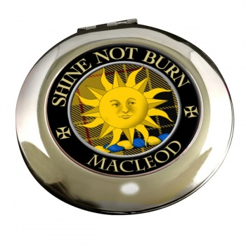 Macleod of Lewis (English) Scottish Clan Chrome Mirror