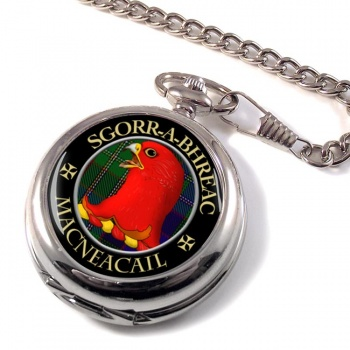 MacNeacail Scottish Clan Pocket Watch