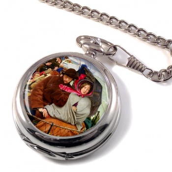 Last of England by Ford Madox Brown Pocket Watch