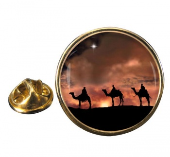 The Magi Round Pin Badge