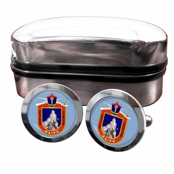 Maipu (Chile) Crest Cufflinks