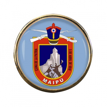 Maipu (Chile) Round Pin Badge