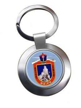 Maipu (Chile) Metal Key Ring