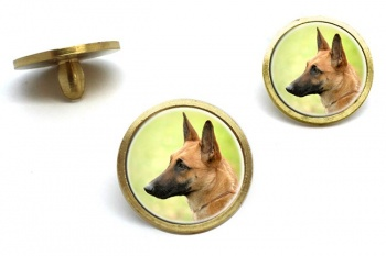 Belgian Shepherd Dog (Malinois)  Golf Ball Marker Set