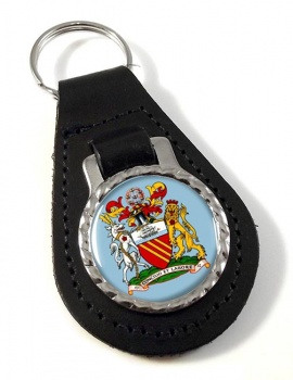 Manchester (England) Leather Key Fob
