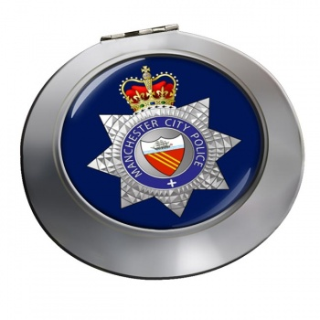 Manchester City Police Chrome Mirror