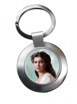 Grand Duchess Maria Nikolaevna Chrome Key Ring