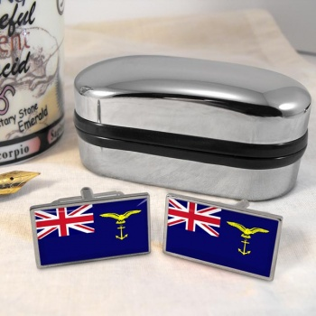 Marine Craft Branch (Royal Air Force) Rectangle Cufflinks