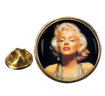 Marilyn Monroe Round Pin Badge