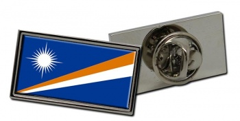 Marshall Islands Flag Pin Badge