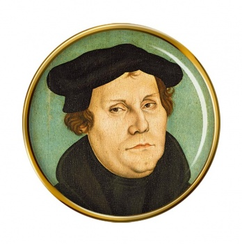 Martin Luther Pin Badge