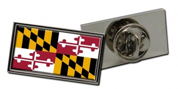 Maryland  Flag Pin Badge