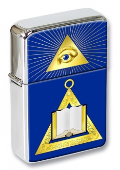 Masonic Lodge Chaplain Flip Top Lighter