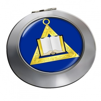 Masonic Lodge Chaplain Chrome Mirror