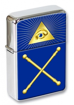 Masonic Lodge Marshal Flip Top Lighter