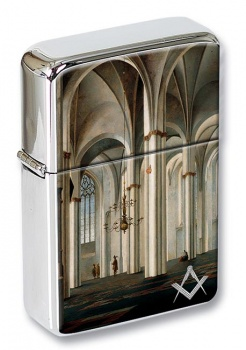 The Master Mason's Work Flip Top Lighter