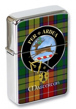 Masterton Scottish Clan Flip Top Lighter