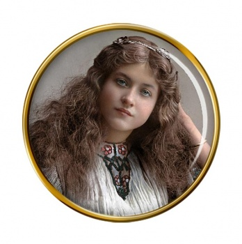 Maude Fealy Pin Badge