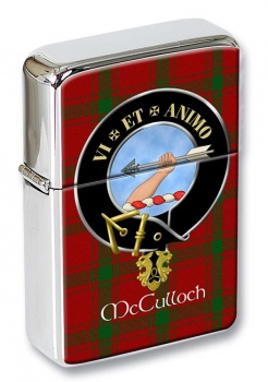 McCulloch Scottish Clan Flip Top Lighter