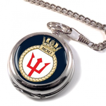 Third Mine Counter Measures Squadron (MCM3) (Royal Navy) Pocket Watch