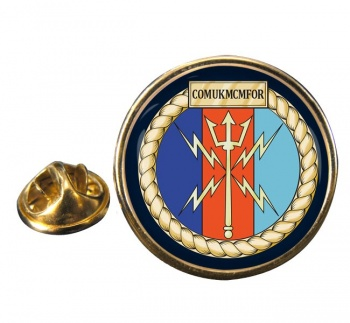 COMUKMCMFOR (Royal Navy) Round Pin Badge