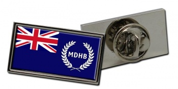 Mersey Docks and Harbour Company Ensign Rectangle Tie Pin