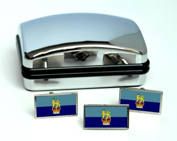 Members of the Air Force Board (Royal Air Force) Rectangle Cufflink and Tie Pin Set